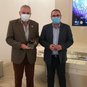 El presidente de banco de Alimentos en Cáceres y el presidente del Consejo Regulador